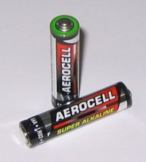 Batterien 2 Stück AAA