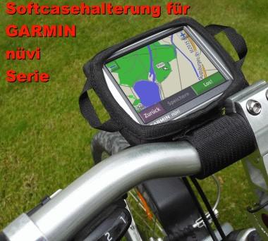 Softcase DIE Fahrradhalterung für GARMIN nüvi Serie