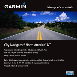 GARMIN DVD City Navigator NT - USA/Kanada/Mexiko 2016