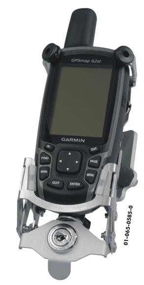 TOURATECH Halterung für Motorrad, abschließbar, für GARMIN GPSMap 62/64 Serie
