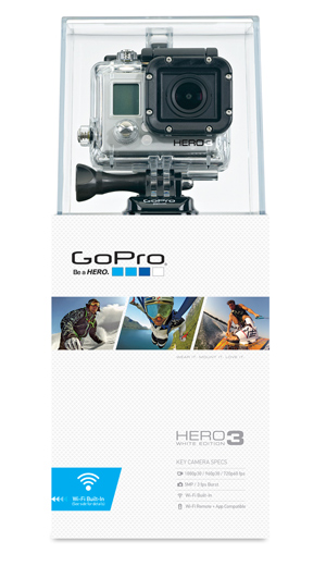 GoPro HD HERO3 - White Edition