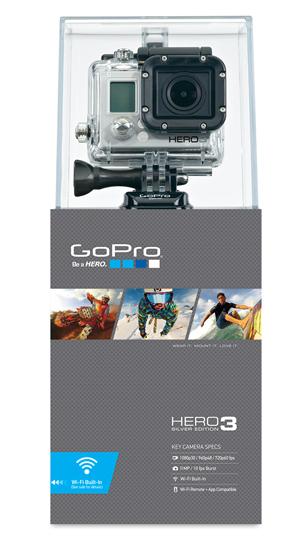 GoPro HD HERO3 - Silver Edition