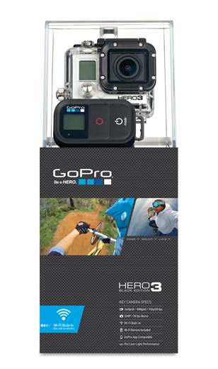 GoPro HD HERO3 - Black Edition (Outdoor Cover)
