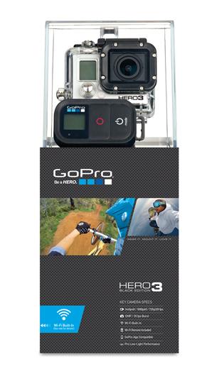 GoPro HD HERO3 - Black Edition (Moto Cover)