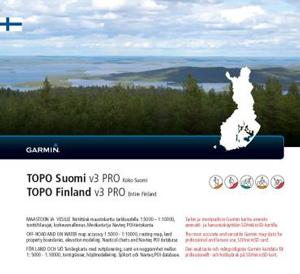 GARMIN Topo Finnland v3 Pro - GESAMT