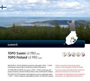GARMIN Topo Finnland v3 Pro - SÜD