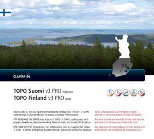 GARMIN Topo Finnland v3 Pro - NORD