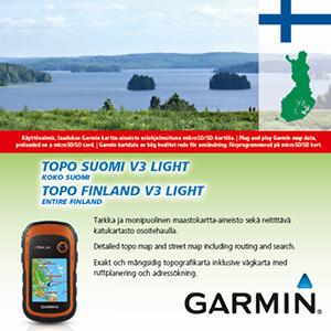 GARMIN Topo Finnland v3 LIGHT - GESAMT