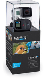 GoPro HD HERO3+ - Black Edition (Moto Cover)