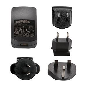 GARMIN USB-Netzteil, für VIRB/X/XE, Monterra, inReach