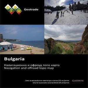 GARMIN Topo Bulgarien