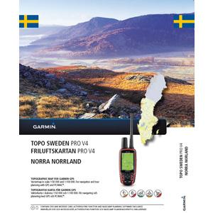 GARMIN Topo Schweden NORRA NORRLAND v4 Pro SALE