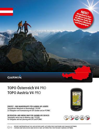 GARMIN Topo Österreich GESAMT v4 Pro