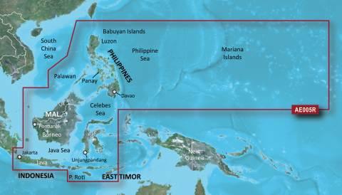 GARMIN g2 BlueChart, microSD/SD - HXAE005R - Philippinen Java-Mariana