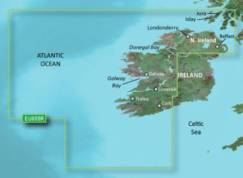 GARMIN g2 Vision BlueChart, microSD/SD - VEU005R - Irland, Westküste