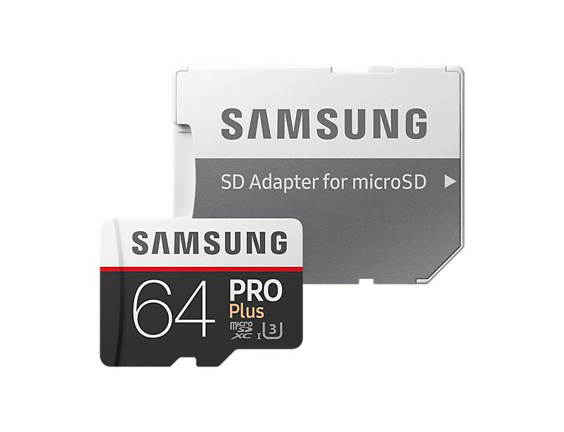 Samsung PRO Plus microSD Karte (MB-MD64GA/EU 2017)