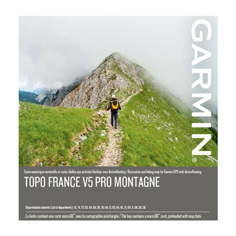GARMIN Topo Frankreich V5 PRO - Montagne