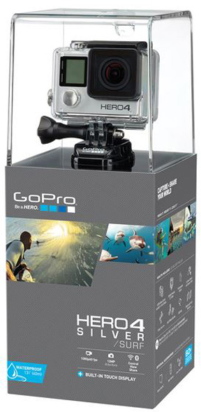 GoPro HERO4 SILVER Surf
