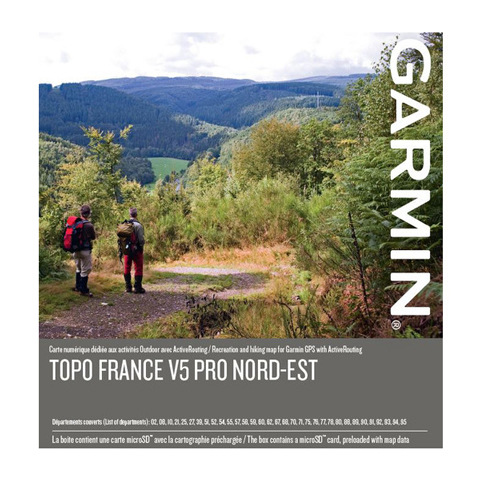 GARMIN Topo Frankreich V5 PRO - Nordost