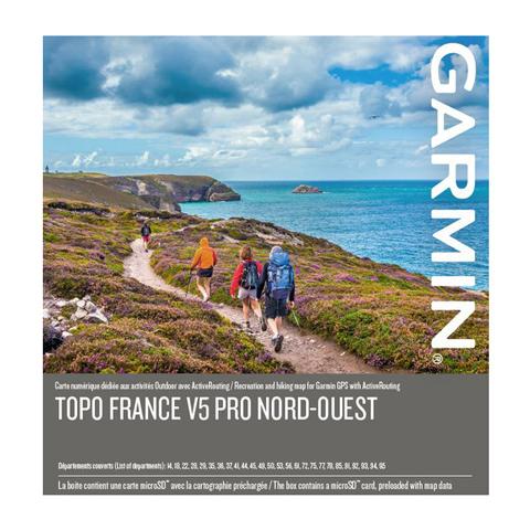 GARMIN Topo Frankreich V5 PRO - Nordwest