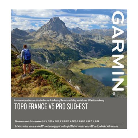 GARMIN Topo Frankreich V5 PRO - Südost