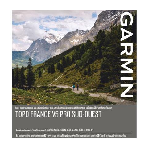 GARMIN Topo Frankreich V5 PRO - Südwest