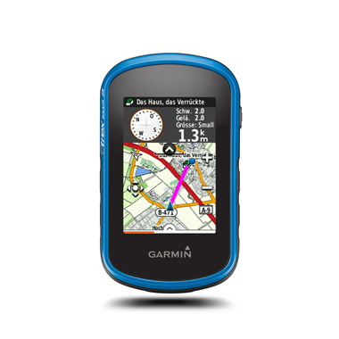 GARMIN eTrex Touch 25 inkl. TopoActive Europa