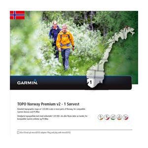 GARMIN Topo Norwegen Premium v2 - 1 Sorvest
