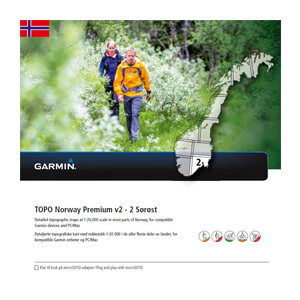 GARMIN Topo Norwegen Premium v2 - 2 Sorost