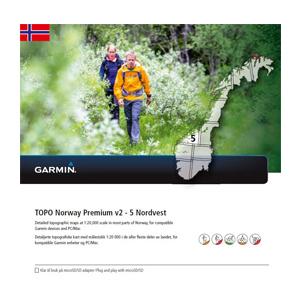GARMIN Topo Norwegen Premium v2 - 5 Nordvest