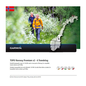 GARMIN Topo Norwegen Premium v2 - 6 Trondelag
