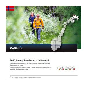 GARMIN Topo Norwegen Premium v2 - 10 Finnmark