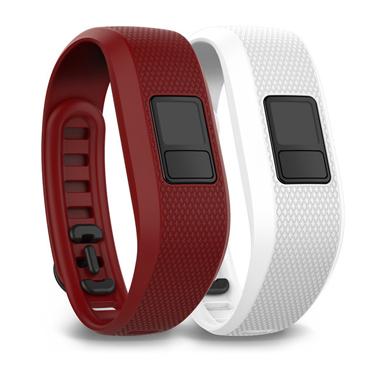 GARMIN Ersatz-Armband, marsala und weiß, für vivofit 3 Standard