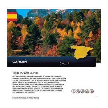 GARMIN Topo Spanien v6 Pro