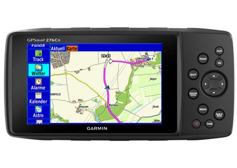 GARMIN GPSMap 276Cx - Die Legende ist zurück!