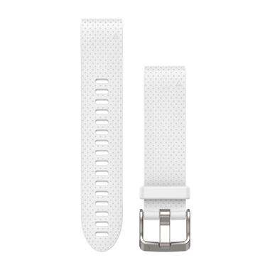 GARMIN QuickFit Ersatz-Armband für fenix 5S, Silikon, 20mm, weiß