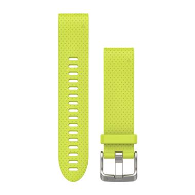 GARMIN QuickFit Ersatz-Armband für fenix 5S, Silikon, 20mm, gelb