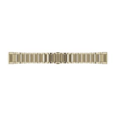 GARMIN QuickFit Ersatz-Armband für fenix 5S, Edelstahl, 20mm, champagner
