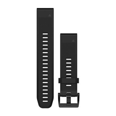 GARMIN QuickFit Ersatz-Armband für fenix 5, Silikon, 22mm, schwarz