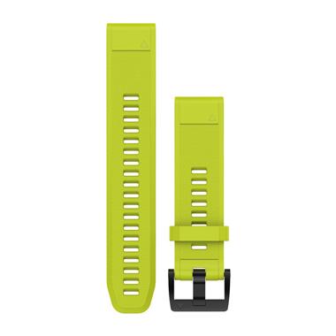 GARMIN QuickFit Ersatz-Armband für fenix 5, Silikon, 22mm, gelb