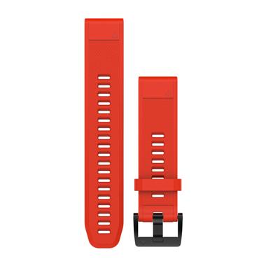 GARMIN QuickFit Ersatz-Armband für fenix 5, Silikon, 22mm, feuerrot