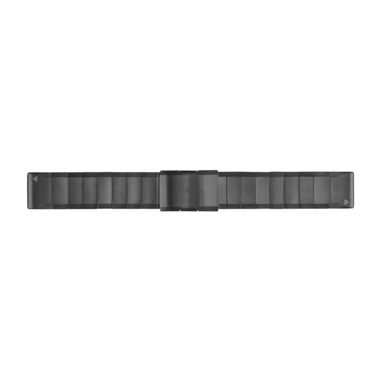 GARMIN QuickFit Ersatz-Armband für fenix 5, Edelstahl, 22mm, schiefergrau
