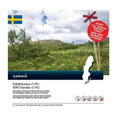 GARMIN Topo Schweden V5 PRO