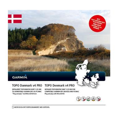 GARMIN Topo Dänemark v4 PRO