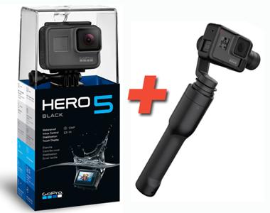 GoPro HERO5 Black BUNDLE inkl. Karma Grip