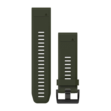 GARMIN QuickFit Ersatz-Armband für fenix 5X, Silikon, 26mm, moosgrün