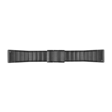 GARMIN QuickFit Ersatz-Armband für fenix 5X, Edelstahl, 26mm, schiefergrau