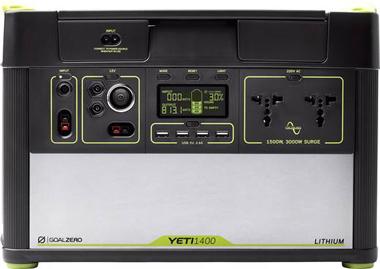GoalZero YETI 1400 LITHIUM, Solar Generator, Notstrom Aggregat