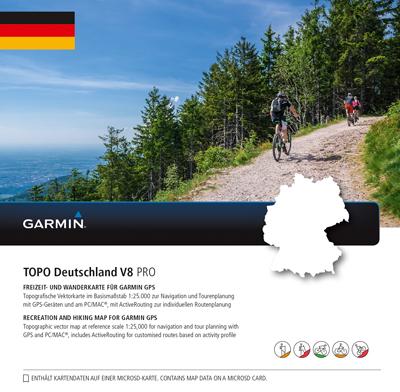 GARMIN Topo Deutschland V8 Pro