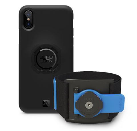 Quad Lock RUN Kit, iPhone X